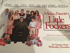Meet The Parents Little Fockers Original Uk Quad Poster