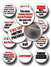 Anti TRUMP Protest Pins Buttons Badges Pin back buttons