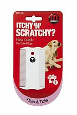 MIKKI  DOUBLE SIDED PLASTIC DOG & CAT FLEA AND TICK COMB 6376125 ITCHY & SCRATCH