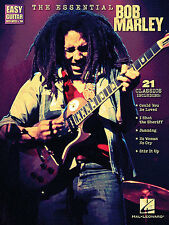 The Essential Bob Marley Learn to Play Reggae EASY Guitar TAB Music Book