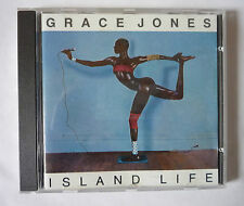 GRACE JONES - ISLAND LIFE 1985 CD ALBUM  - GOOD CONDITION