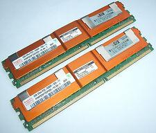 Original 8GB RAM DDR2 Hynix ( 4 x 2GB ) HYMP525F72CP4D3 - Y5 , 667mhz 398707-001