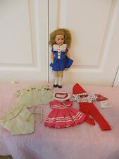 """12"""" 1950's Shirley Temple with extra tagged outfits"""
