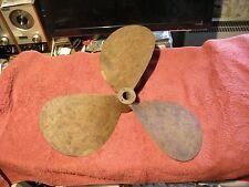 ELICA  TRIPALA   Vetus in bronzo da barca da lavoro o pesca da 49cm di diametro