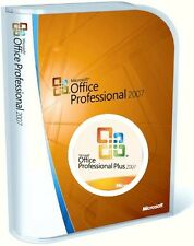 Microsoft Office Professional Plus 2007 Word Excel Power Point Outlook (3PCs)