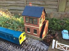 Garden Railway, King & Country, Gauge 1,1:24th, Signal Box Weathered (WFS1)