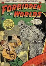 ACG - FORBIDDEN WORLDS #1-145 SILVER AGE SCI-FI FANTASY COMICS ON DVD