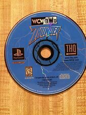 1999 WCW NWO  Thunder PlayStation Game Rated E