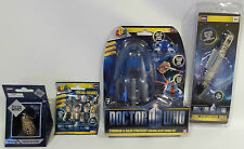 DOCTOR WHO : DALEK KEY RING, SONIC SCREWDRIVER PEN, MICRO FIGURE, DALEK TOY (TK)