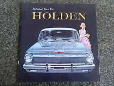 HOLDEN 1962 EJ SALES BROCHURE.''ABSOLUTELY MINT''