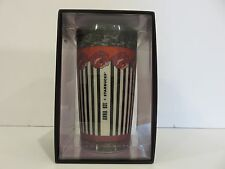 Starbucks Anna Sui Limited Edition Rose Stripe Double Wall Traveler 12 oz