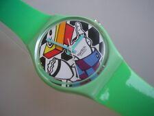 """Swatch GENT """"Rapp-él"""" + artículo nuevo + con plástico pulsera"""