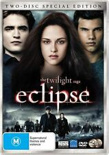 The Twilight Saga - Eclipse (DVD, 2010, 2-Disc Set) NEW AND SEALED R4 PAL