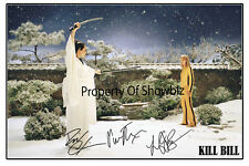 KILL BILL - LARGE AUTOGRAPHED SIGNED PHOTO POSTER PRINT - LUCY LIU & UMA THURMAN
