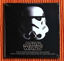 JOHN WILLIAMS - STAR WARS THE ULTIMATE CD COLLECTION 10CD & 1DVD Box Set  SEALED