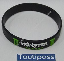 MONSTER ENERGY DRINK Bracelet plastique silicone produit officiel pas copie NEUF