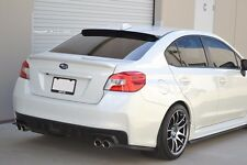 HIC USA 2015 to 2016 Impreza WRX STI sedan rear roof window visor spoiler