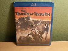 Roots of Heaven John Huston Errol Flynn Blu-Ray Limited Edition of 3,000 New OOP