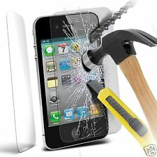 100% Genuine Tempered Glass Film Screen Protector for Apple Iphone 4 / 4S