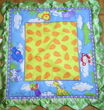 BABIES R US Jungle Turtle Monkey Zebra     Activity Gym Replacement Play Mat NEW