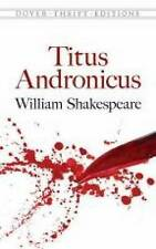 Titus Andronicus Shakespeare  William 9780486796970