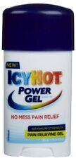 3 Pack - ICY HOT Power Gel Pain Reliever Gel Maximum Strength 1.75 oz Each
