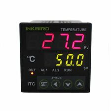 Inkbird Dual Digital PID Temperature Thermocouple Controller Cooling and Heating