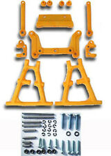 YELLOW A-arm FRONT SUSPENSION KIT Futaba FX10 Tamiya Lunch Box RC Team CRP 1626