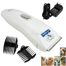 Low-noise Electric Animal Pet Dog Cat Hair Trimmer Shaver Razor Grooming Clipper