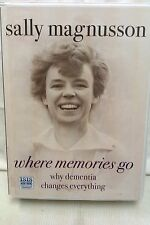 Where Memories Go by Sally Magnusson: Unabridged Cassette Audiobook (DD4)