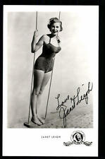 Janet Leigh Autogrammkarte Original Signiert ## BC 30361