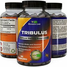 Tribulus Terrestris Supplement with 45% Saponins - Improves Drive & Testosterone