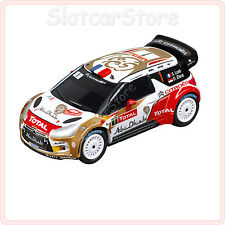 """Carrera GO 64006 Citroen DS3 WRC """"Citroen Total Abu Dhabi, No.1"""" 1:43 Rally"""