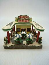 St. Nicholas Square, Betty's Diner Lighted Building (h1628)