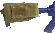 M4 Buttstock Mag Pouch - M4 AR15 Magazine Pouch Genuine Made in USA Tactical Tan