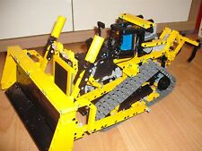 Building instruction Bulldozer 8275 RC Self-made Unikat Moc Lego Technic