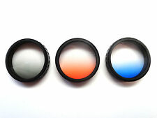 Freewell DJI Phatom 3 / 4 Grey Orange Blue Graduated Camera Lens Filter 3 Pack