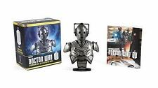 Doctor Who : Cyberman Bust & Illustrated Book Official Mini Collectible BBC NEW