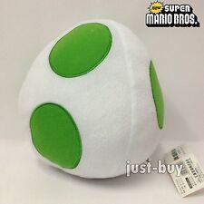 "New Super Mario Bros. U. Plush Yoshi Egg Soft Toy Doll Stuffed Animal Green 7.5"""