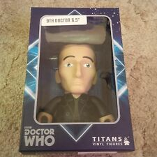 """Doctor Who 9th doctor 6.5"""" vinyl figure Dr. TITAN NEW IN BOX RARE"""