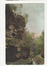 USA, Point Lookout from Below Watkins Glen NY Postcard, A815