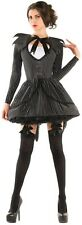 BAD DREAMS BABE Jack Skellington Nightmare Before Christmas Pinstripe Dress M