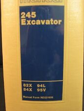 Caterpillar Cat 245 Excavator Service Manual