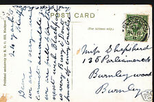 Genealogy Postcard - Ancestor History - Shepsherd - Burnley  A3457