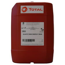 Total QUARTZ 9000 ENERGY 5W-40 20 Litro Bidone