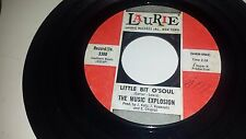 MUSIC EXPLOSION I See The Light / Little Bit O'Soul LAURIE 3380 GARAGE 45 7""