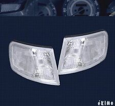 APC 94-97 HONDA ACCORD EURO CLEAR LENS CORNER TURN SIGNAL LAMP LIGHTS Left+Right