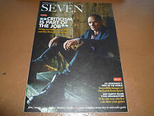 Seven Sunday Telegraph Magazine 13/10/13 Sting  POLICE 1 day only