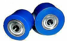 YAMAHA YZ125 YZ 125 YZ250 YZ 250 96-14 TOP & BOTTOM CHAIN ROLLER SET RFX BLUE