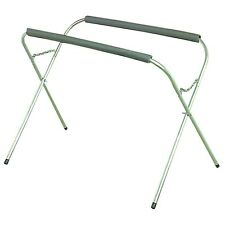 """3/4"""" Steel 200 Lb. Capacity Portable Work Stand W Foam Cushions to protect work!"""
